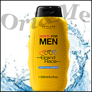 North For Men Grand Race Fortifying Shampoo