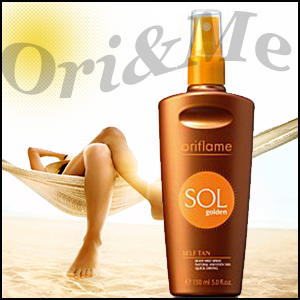 Sol Golden Self Tan Body Mist Spray