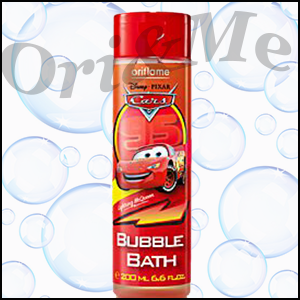 Oriflame Disney/Pixar Cars Bubble Bath