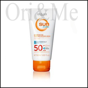 Sun Zone UV Protector Face and Exposed Areas SPF 50 High