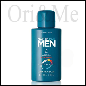 North for Men Unlimited Aftershave