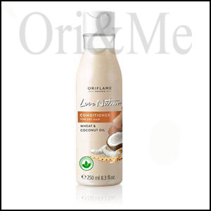 Love Nature Conditioner for Dry hair with Wheat & Coconut Milk