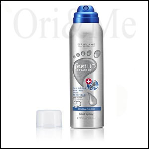 Feet Up Advanced 36 H Odour Control Anti-perspirant Foot Spray
