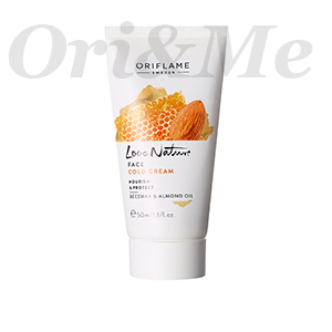 Love Nature Face Cold Cream Nourish & Protect Beeswax & Almond Oil
