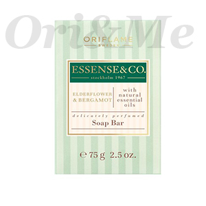 ESSENSE&CO. Elderflower & Bergamot Soap Bar