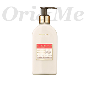 ESSENSE&CO. Pink Pepper & Rhubarb Hand & Body Lotion