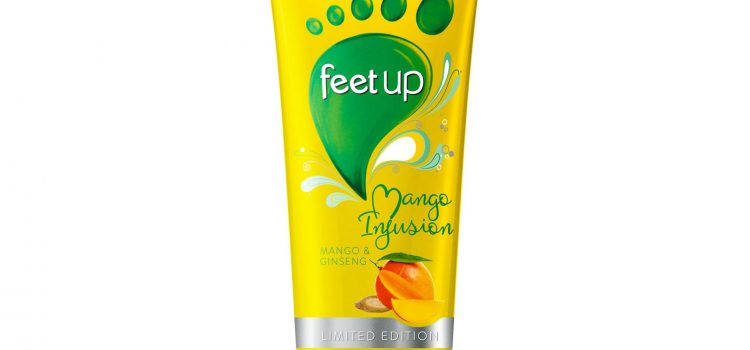 FEET UP Mango Infusion Mango & Ginseng Foot Cream