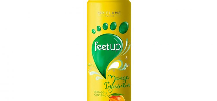 FEET UP Mango Infusion Mango & Ginseng Foot Spray